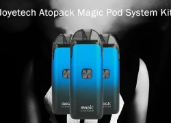 $22 with coupon for Joyetech Atopack Magic Pod System Kit 1300mAh – Black from GearBest