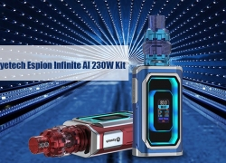 $92 with coupon for Joyetech Espion Infinite AI 230W Mod Kit – Black from GearBest