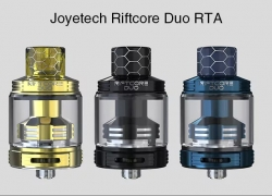 $49 with coupon for Joyetech Riftcore Duo RTA – BLACK from GearBest