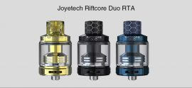 $47 with coupon for Joyetech Riftcore Duo RTA – BLACK from GearBest
