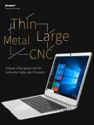 € 351 с купоном для Jumper EZbook 3 Plus 14 дюймовый ноутбук Windows 10 Intel Core M3-7Y30 8G RAM 128G SSD металлический корпус от BANGGOOD