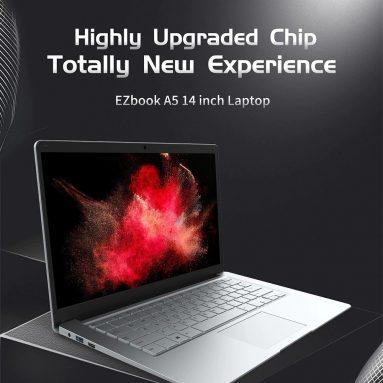 € 173 जम्पर EZbook A5 14 इंच FHD लैपटॉप विंडो के लिए कूपन के साथ