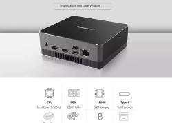 € 206 s kupónom pre Jumper EZbox I3 Mini PC 8GB RAM + 128GB SSD - Black EU Plug od GEARBEST