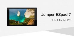 $165 with coupon for Jumper EZpad 7 2-in-1 Tablet PC from GearBest