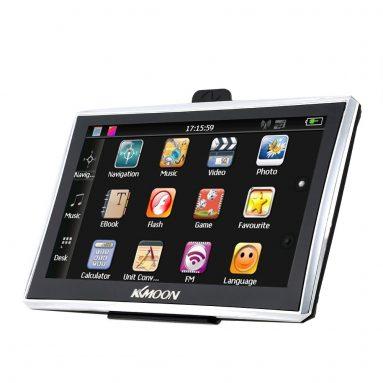 50% REDUCERE Navigator GPS portabil cu ecran tactil KKMOON 7 ″ HD de la TOMTOP Technology Co., Ltd.