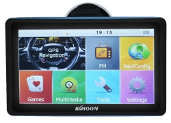 42% OFF + $6 OFF KKMOON Car Portable GPS Navigator(Map: America, Europe) from TOMTOP Technology Co., Ltd