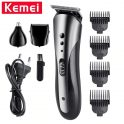 $7 with coupon for KEMEI KM-1407 Hair Clipper Electric Shaver Razor Nose Hair Trimmer Cordless Men Barber Tool from BANGGOOD