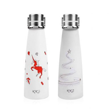 €14 with coupon for KISSKISSFISH [ Limited ]Smart Vacuum Th-ermos Water Bottle Th-ermos Cup Portable Water Bottles Best Gift Choice From Xiaomi Youpin from BANGGOOD