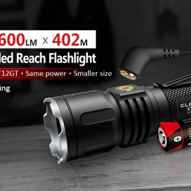 $56 with coupon for KLARUS XT12S CREE XHP35 HI D4 High Brightness Flashlight – BLACK from Gearbest