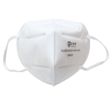 일회용 마스크 쿠폰 포함 € 14 KN95 페이스 마스크 95 % 여과 부직포 보호 마스크 먼지 입자 오염 필터 CE 인증 FPP2 – GEARBEST의 5PCS