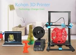 € 319 s kupónom pre KOHON KH01 Rýchla zostava z hliníkovej zliatiny 3D Printer - BLACK EU PLUG EU sklad od GearBest