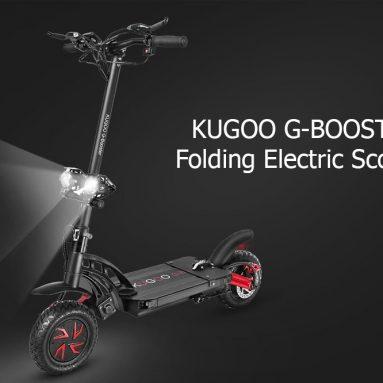 € 947 עם קופון עבור KUGOO G-BOOSTER קורקינט חשמלי מתקפל מחסן האיחוד האירופי (2 מתנות חינם) מ- GEEKBUYING