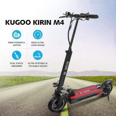 552 € са купоном за КУГОО КИРИН М4 склопиви електрични скутер (2 бесплатна поклона) од ЕУ Варехоусе од ГЕЕКБУИИНГ