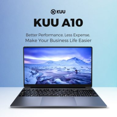 320 € mit Gutschein für KUU A10 Laptop 15.6 Zoll Intel Celeron J4125 Prozessor 8GB RAM 256GB SSD Windows 10 Pro Notebook Computer aus EU PL Lager
