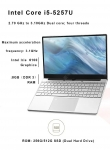 394 $ με κουπόνι για KUU K1 Laptop Intel Core i5-5257U Επεξεργαστής 15.6 ιντσών IPS Screen Office Notebook 8GB RAM Windows 10 - 256GB από την GEARBEST