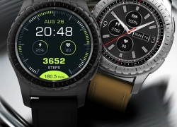 $39 with coupon for KingWear KW28 Smartwatch Phone – Black from GEARBEST