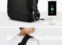 $26 with coupon for Kingsons Crossbody Bags for Men Messenger Chest Casual Anti-theft USB Charging from GearBest