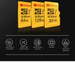 $14 with coupon for Kodak High Speed U3 A1 V30 TF Micro SD Memory Card 128GB Support 4K from BANGGOOD