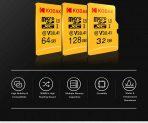 Kodak High Speed U14 A3 V1 TF Micro SDメモリーカードの30GBクーポン付き128GB BANGGOODの4Kをサポート
