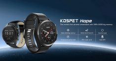 €125 with coupon for Kospet Hope 3G+32G 4G-LTE Watch Phone 1.39′ AMOLED IP67 WIFI GPS/GLONASS 8.0MP Android7.1.1 Smart Watch from BANGGOOD