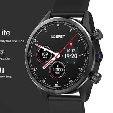 € 90 với phiếu giảm giá cho Kospet Hope Lite 4G-LTE 1.39 Case Vỏ gốm AMOLED 1 + 16G 8.0MP WIFI GPS / GLONASS Điện thoại đồng hồ Android7.1.1 từ BANGGOOD