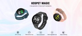 $14 with coupon for Kospet Magic GPS Smart Watch – Black from GEARBEST