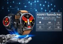 Kospet Optimus Pro 듀얼 칩 시스템 용 쿠폰이 포함 된 € 143 3G + 32G 4G-LTE 시계 전화 AMOLED 8.0MP 800mAh GPS Google Play Smart Watch EU UK WAREHOUSE from BANGGOOD