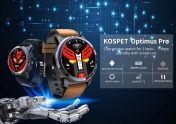€133 with coupon for Kospet Optimus Pro Dual Chip System 3G+32G 4G-LTE Watch Phone AMOLED 8.0MP 800mAh GPS Google Play Smart Watch EU UK WAREHOUSE  from BANGGOOD