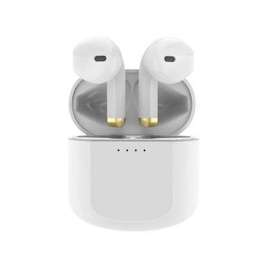 € 8 dengan kupon untuk Kospet PopBuds Mini Wireless Headphone bluetooth Earphone Waterproof Earpieces 9D Stereo Sport Earbuds Kotak Pengisian Kapasitas Besar Dengan Mikrofon dari BANGGOOD