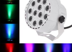 34% OFF 15W 12 LEDs RGBW Par Light w/ Free Shipping from TOMTOP Technology Co., Ltd