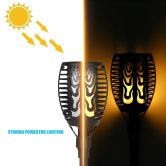 55% OFF 51LEDs Solar Powered Torch Lawn Light,limited offer $15.99 from TOMTOP Technology Co., Ltd