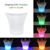 49% OFF 5L 7 Colors LED Light Ice Bucket,limited offer $15.99 from TOMTOP Technology Co., Ltd