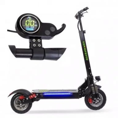 €587 with coupon for LANGFEITE L8 20.8Ah 48V 800W*2 Double Motor Folding Electric Scooter from BANGGOOD