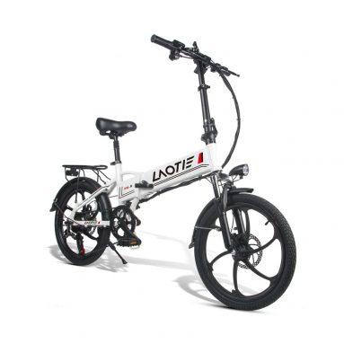 € 609 với phiếu giảm giá cho Xe đạp điện gấp gọn LAOTIE PX5 48V 10.4Ah 350W 20in 35km / h Tốc độ tối đa 80 km Mileage E-Bike EU Plug - Màu trắng từ BANGGOOD