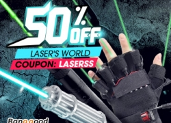 Up to 50% OFF for Laser Pointer from BANGGOOD TECHNOLOGY CO., LIMITED