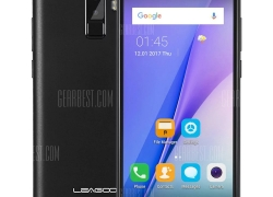 $64 with coupon for LEAGOO M9 3G Phablet  –  BLACK from GearBest
