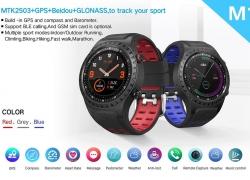 45 avec coupon pour LEMFO M1S Téléphone Smartwatch Compas de positionnement GPS IP67 Waterproof de GEARVITA