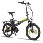 € 1123 med kupon til LIKOO FD20 PLUS 13Ah 48V 250W 20 × 1.95in Foldbar knallert elektrisk cykel 25 km / t Tophastighed 100 km Kilometertal By Mountain Electric Bike fra EU CZ lager BANGGOOD