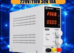 €39 with coupon for LONG WEI LW-K3010D 110V/220V 30V 10A Adjustable Digital DC Power Supply Switching Power Supply – EU Plug from BANGGOOD