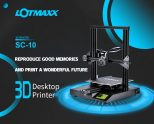 €234 with coupon for LOTMAXX SC – 10 3.5 inch 3D Printer High Precision Touch Screen – Black EU Plug + 2pcs 200g Filament from GEARBEST