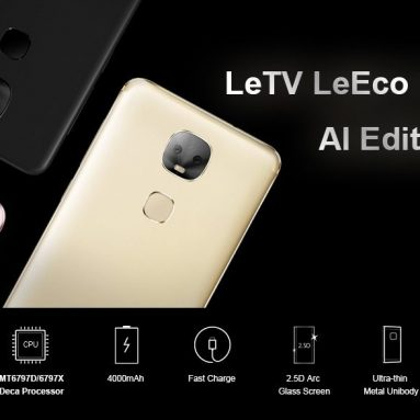€107 with coupon for LeTV LeEco Le Pro 3 AI Edition X650 5.5 Inch 4G LTE Smartphone from GEEKBUYING