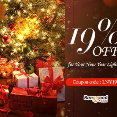 Năm mới: 19% OFF cho Ánh sáng & Ánh sáng (Sản phẩm LED) từ CÔNG TY TNHH CÔNG NGHỆ BANGGOOD
