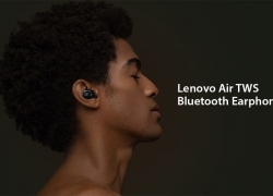 $49 with coupon for Lenovo Air TWS Bluetooth Earphones True Wireless Earbuds – BLACK from GearBest