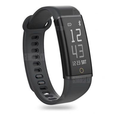 $24 flashsale for Lenovo Cardio Plus HX03W Smartband  –  BLACK from Gearbest