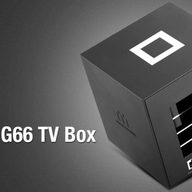 $53 with coupon for Lenovo G66 TV Box – BLACK EU PLUG from GearBest
