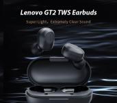 €17レノボGT2 TWSミニBluetooth 5.0イヤフォンのクーポン付きトゥルーワイヤレスステレオイヤホンポップで接続16時間のバッテリー寿命7.2mmダイナミックドライバー(GEARBEST)
