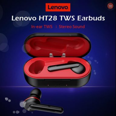€ 25 s kuponom za Lenovo HT28 bluetooth 5.0 TWS Earbuds Touch Control True Wireless in-ear slušalice HiFi sportske slušalice 3D stereo slušalice s mikrofonom od BANGGOOD