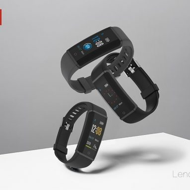 $21 with coupon for Lenovo HX03F Smart Watch – BLACK from GearBest