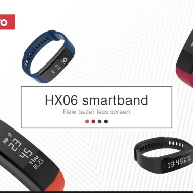 $6 with coupon for Lenovo HX06 Smart Bracelet from Gearbest