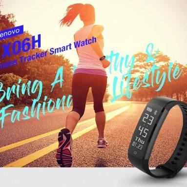 $ 12 con coupon per Lenovo HX06H Smart Bracelet 5ATM Waterproof Long Standby Sleep Monitoring di GEARVITA